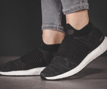 50% Off Adidas Black UltraBOOST Laceless + Free Shipping