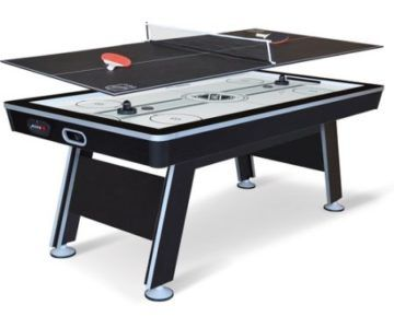 Huge NHL 80-inch Air Hockey Table with Bonus Ping Pong Top for $139 (retail $330)