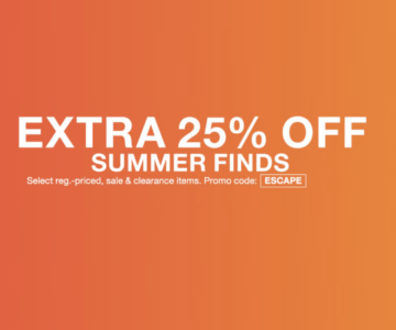 Extra 25% off Ralph Lauren and More