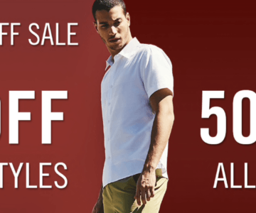 Perry Ellis Triple Dip Discount – EXTRA 50% + 15% + FREE SHIPPING
