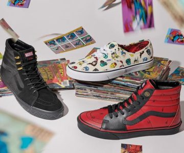 20% off the Marvel x Vans Collection + Free Shipping