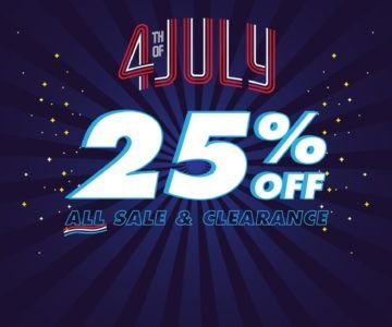 EXTRA 25% OFF – 4th Of July Sale