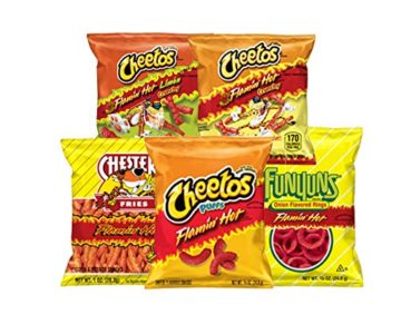40 Pack – Flamin' Hot Variety Snack Pack for $13.48