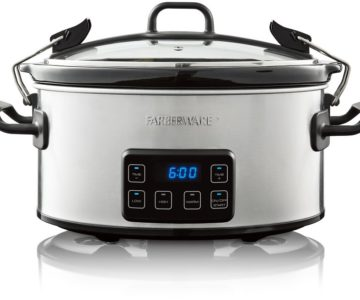 50% off Farberware 6-Quart Slow Cooker – Only $14.99