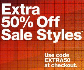 Extra 50% off American Apparel Sale