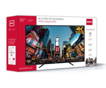 RCA 50″ 4K UHD TV on sale for just $229.99