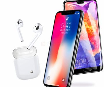 TWS i7s Plus Wireless Earbuds with Charging Case for $7.99