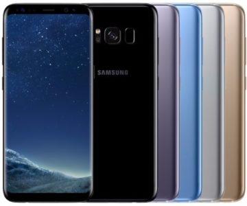 UNLOCKED 64GB Samsung Galaxy S8+ for $479