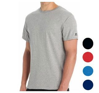 3 Pack of Men's Russell Moisture Wicking Performance T-Shirts for $15 with Free Shipping