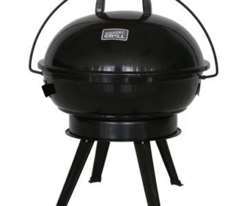 Portable Domed Charcoal Grill on sale for $8.60