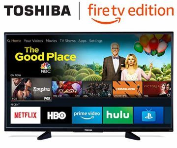Toshiba 50-inch 4K UHD Fire TV on sale for $289.99