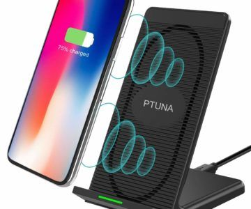 iPhone X Wireless Charger Stand on sale for just $9.99