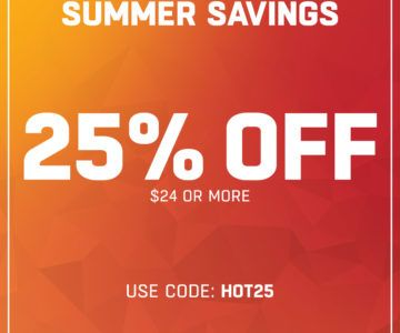Lids – 25% off orders of $24 or more