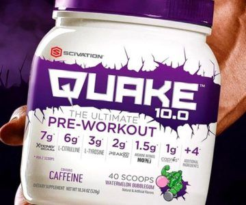 Quake Ultimate Pre-Workout on sale for just $9.99