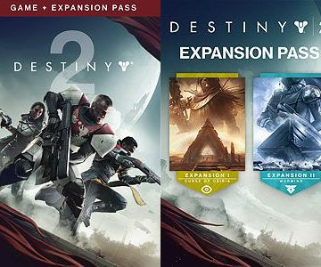 Destiny 2 + Expansion Pass Bundle for Xbox One is only $19.80