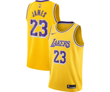 20% off Nike LeBron James Lakers Jersey