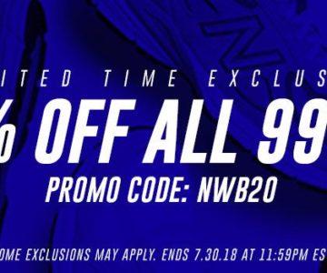 20% Off List Price of All New Balance 990v4