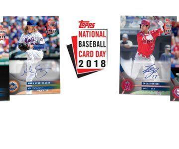 FREE Pack of Topps Baseball Cards for National Baseball Card Day
