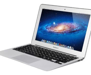 Apple MacBook Air on sale for $349.99 with Free Shipping