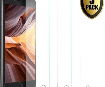 3 Pack of iPhone Tempered Glass Screen Protectors for $1.95