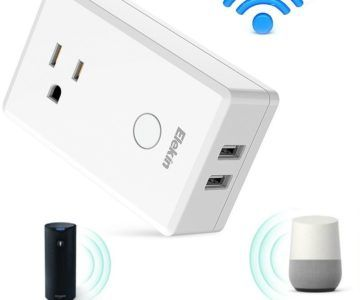 65% off WiFi Smart Plug with Alexa and Google Home Support