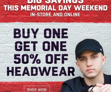 Hats are Buy One Get One 50% Off – Memorial Day Deal