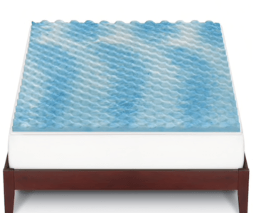 The Big One® Gel Memory Foam Mattress Topper on sale for $28 (originally $110)