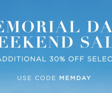 EXTRA 30% off Ralph Lauren – Memorial Day Sale