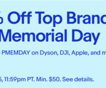 eBay – 15% Memorial Day Deal