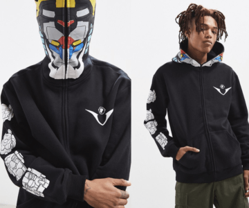 Brooklyn Projects x Voltron Headcase Zip Hoodie is only $35 at checkout (originally $85)