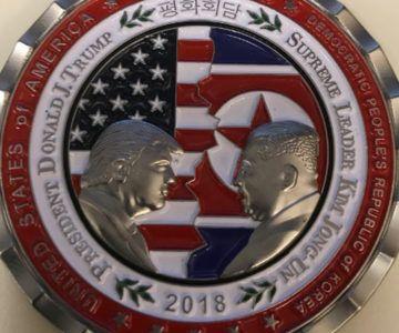 20% off North Korea Summit Challenge Coin