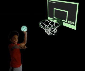 Glow-In-The-Dark Basketball Set on sale for $8.99