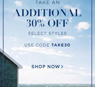 Take an extra 30% off Ralph Lauren