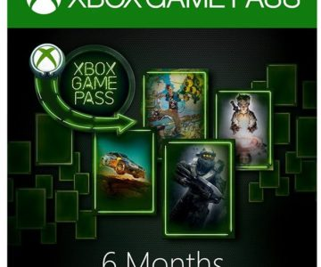 50% off 6 Month Xbox Game Pass