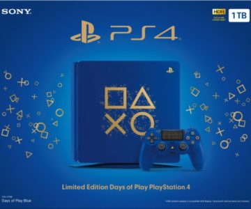Sony PS4 1TB Limited Edition Days of Play Console Available