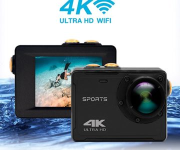 4K WiFi Waterproof Sports Camera for $22.79