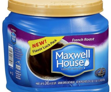 30.6 Oz Maxwell House Ground Coffee on sale for $4.99 (normally $10.98)