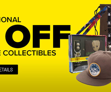 50% off Games and Collectibles