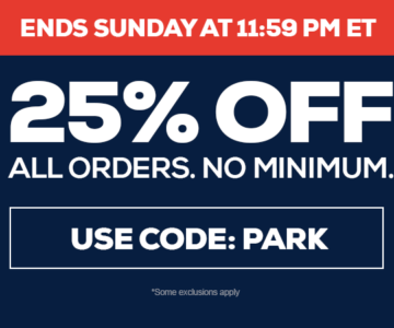 25% Off All Orders – No Minimum