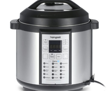 6QT Homgeek 15 in 1 Electric Pressure Cooker for $39.99 with Free Shipping