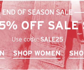Extra 25% off Levi's Sale
