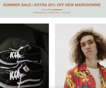 Need Supply – EXTRA 20% Off Summer Sale