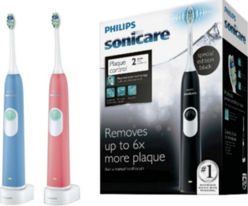 Philips Sonicare™ 2 Series Plaque Control Rechargeable Electric Toothbrush on sale for just $19.99