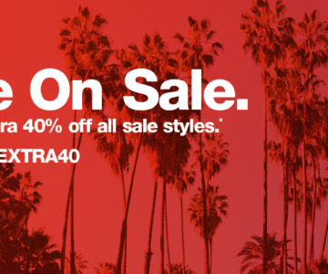 EXTRA 40% off American Apparel