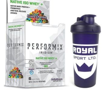72 Pack of Performix Premium Grade Whey Protein Isolate + Shaker for $35 (Retail $120)