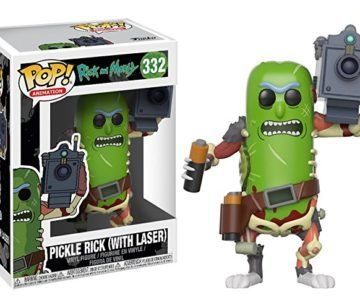 "Funko POP! Rick & Morty ""Pickle Rick"" on sale for $8.89"