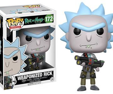 """50% off Funko POP! Rick and Morty """"Weaponized Rick"""""""