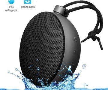 AlierGo Wireless Waterproof Speaker on sale for $7.99
