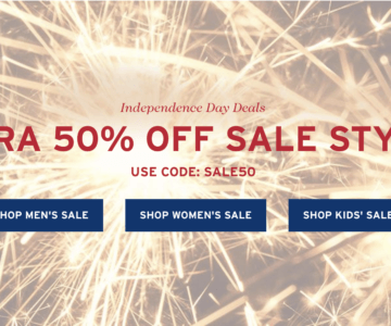 Extra 50% off Levi's – 4th of July Sale