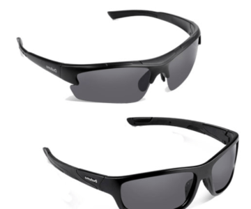 2 Pack of Name Brand Polarized Sport Sunglasses for $11.48 with Free Shipping